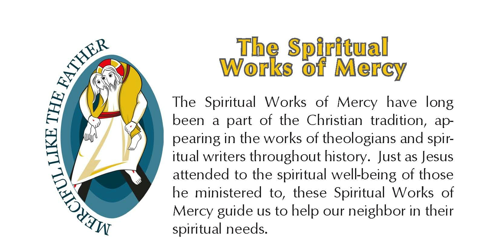 WORKS OF MERCY EXP - Spiritual brief