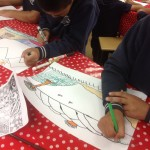 Grade 5 zentangle landscape drawing 31