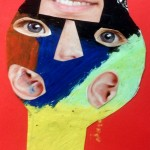 Grade 4 Picasso simple collage 2015 27