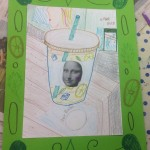 grade 5 mona lisa parody drawing 2015 3