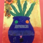 grade 3 van gogh sunflowers painting 7 2015