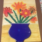 grade 3 van gogh sunflowers painting 10 2015