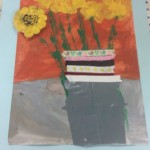 grade 3 van gogh sunflowers painting 11 2015