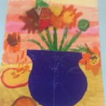 grade 3 van gogh sunflowers painting 1 52015