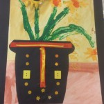 grade 3 van gogh sunflowers painting 17 2015