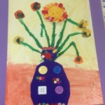 grade 3 van gogh sunflowers painting 19 2015