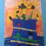 grade 3 van gogh sunflowers painting 21 2015