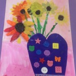 grade 3 van gogh sunflowers painting 22 2015