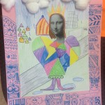 grade 5 mona lisa parody drawing 2015 13