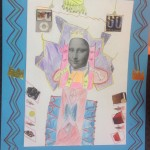 grade 5 mona lisa parody drawing 2015 14