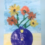 grade 3 van gogh sunflowers painting 23 2015