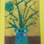 grade 3 van gogh sunflowers painting 25 2015