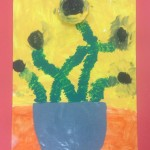 grade 3 van gogh sunflowers painting 26 2015