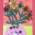 grade 3 van gogh sunflowers painting 28 2015