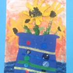 grade 3 van gogh sunflowers painting 31 2015