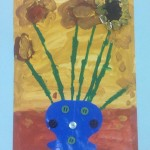 grade 3 van gogh sunflowers painting 33 2015