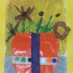 grade 3 van gogh sunflowers painting 34 2015