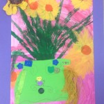 grade 3 van gogh sunflowers painting 36 2015