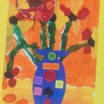 grade 3 van gogh sunflowers painting 38 2015
