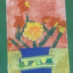 grade 3 van gogh sunflowers painting 39 2015