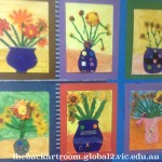 grade 3 van gogh sunflowers painting 43 2015