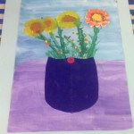grade 3 van gogh sunflowers painting 47 2015