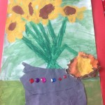 grade 3 van gogh sunflowers painting 52 2015