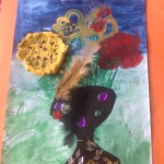grade 3 van gogh sunflowers painting 54 2015