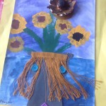 grade 3 van gogh sunflowers painting 55 2015