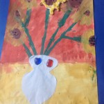 grade 3 van gogh sunflowers painting 63 2015