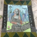 grade 5 mona lisa parody drawing 2015 24